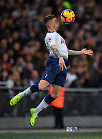 Football - 2018 / 2019 Premier League - Tottenham Hotspur vs. Manchester United<br /> <br /> Tottenham Hotspur's Kieran Trippier in action during this afternoon's game, at Wembley Stadium.<br /> <br /> COLORSPORT/ASHLEY WESTERN