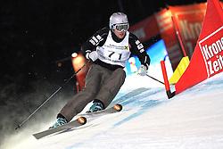 Filip Flisar of Slovenia at FIS World Cup Ski cross race, on January 4, 2009 in St. Johann, Austria. (Photo by Grega Stopar)