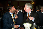 ROCCO FORTE AND PETER STOTHARD The Spectator 180th Anniversary party, at the Churchill Hotel, London, 7 May 2008.  *** Local Caption *** -DO NOT ARCHIVE-© Copyright Photograph by Dafydd Jones. 248 Clapham Rd. London SW9 0PZ. Tel 0207 820 0771. www.dafjones.com.