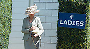 © Licensed to London News Pictures. 06/06/2014. Epsom, UK Ladies Day today 6th June 2014 at Epsom 2014 Investic Derby Festival in Surrey. Traditionally, elegant, fashionable racegoers gather for a classic day's racing at Epsom Racecourse, Surrey. Photo credit : Stephen Simpson/LNP