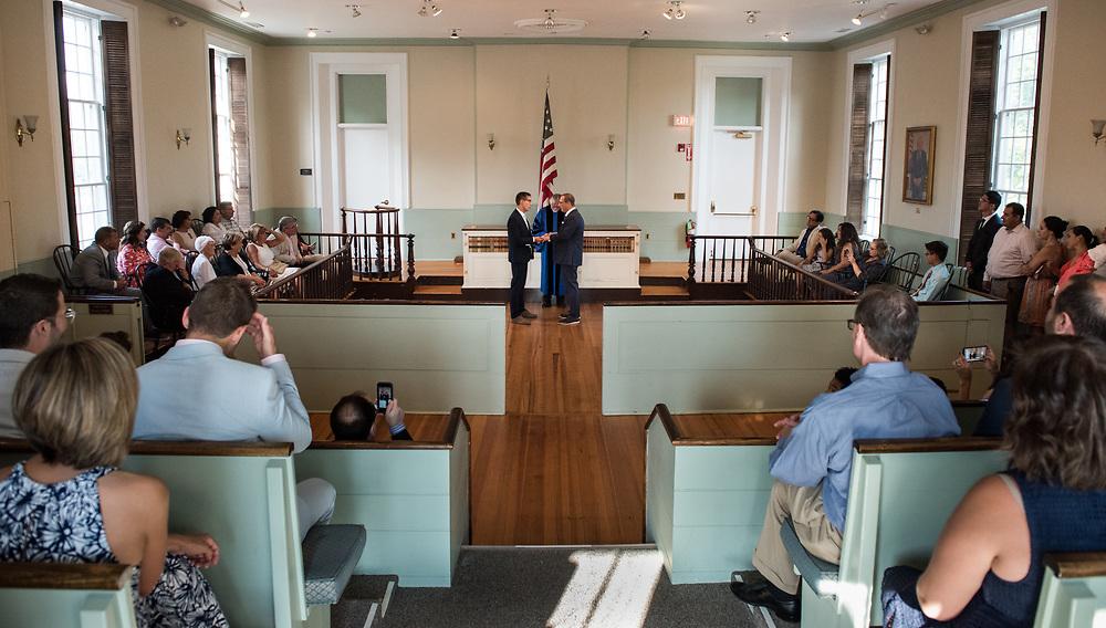 Juan and Matt's wedding in Brostol, RI.