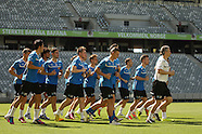 Grasshoppers Training at Cape Town Stadium