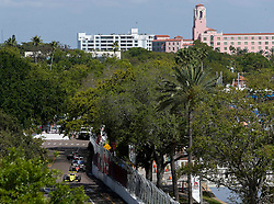 March 9, 2019 - St. Petersburg, Florida, U.S. - DIRK SHADD   |   Times  .With the Vinoy Renaissance Hotel pictured in the background, Indy Pro 2000 cars race around turn nine at the Grand Prix of St. Petersburg in St. Petersburg on Saturday, March 9, 2019. (Credit Image: © Dirk Shadd/Tampa Bay Times via ZUMA Wire)