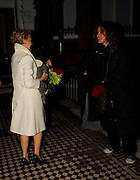 09.JANUARY.2007. LONDON<br /> <br /> KYLIE ARRIVING HOME AT 1.00AM AFTER PEFORMING AT WEMBLEY ARENA AS PART OF HER TOUR, SHE IS SPORTING NEW BLONBE HAIR. TWO FANS WERE WAITING FOR HER TO GIVE HER A BUNCH OF FLOWERS AS SHE GOT HOME.<br /> <br /> BYLINE: EDBIMAGEARCHIVE.CO.UK<br /> <br /> *THIS IMAGE IS STRICTLY FOR UK NEWSPAPERS AND MAGAZINES ONLY*<br /> *FOR WORLD WIDE SALES AND WEB USE PLEASE CONTACT EDBIMAGEARCHIVE - 0208 954 5968*
