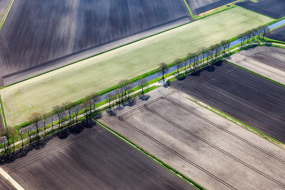 Nederland, Drenthe, Gemeente Emmen, 01-05-2013; Meineszwijk, ten westen van <br /> Amsterdamscheveld (Erica) voormalig veengebied.<br /> Former peat moor area (Eastern Holland).<br /> luchtfoto (toeslag op standard tarieven);<br /> aerial photo (additional fee required);<br /> copyright foto/photo Siebe Swart
