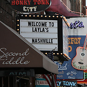 Nashville, also known as Music City, U.S.A., is most famous for its status as the long-time capital of country music, home to the Grand Ole Opry and the Country Music Hall of Fame. Musicians perform at the bars on Broadway&rsquo;s Honky Tonk Row in downtown Nashville.<br /> Photography by Jose More