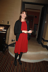 SAMANTHA CAMERON wife of David Cameron MP leader of the Conservative party at a lunch hosted by Ralph Lauren to present their Spring 2007 collection in support of the Serpentine Gallery's Education Programme, held at Fifty, 50 St.James's Street, London SW1 on 20th March 2007.<br /><br />NON EXCLUSIVE - WORLD RIGHTS