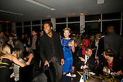 ALLA GREENE; STEFAN CASSEUS, Vanity fair and Bally's 'Hollywood Domino' party to benefit The Art of Elysium at the Andaz Hotel, Sunset Boulevard. West Hollywood. 20 February 2009 *** Local Caption *** -DO NOT ARCHIVE-© Copyright Photograph by Dafydd Jones. 248 Clapham Rd. London SW9 0PZ. Tel 0207 820 0771. www.dafjones.com.<br /> ALLA GREENE; STEFAN CASSEUS, Vanity fair and Bally's 'Hollywood Domino' party to benefit The Art of Elysium at the Andaz Hotel, Sunset Boulevard. West Hollywood. 20 February 2009