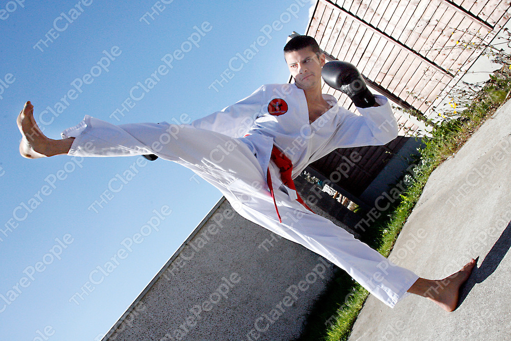 Martial Arts enthuasiast Pragasen Morrissey.<br />