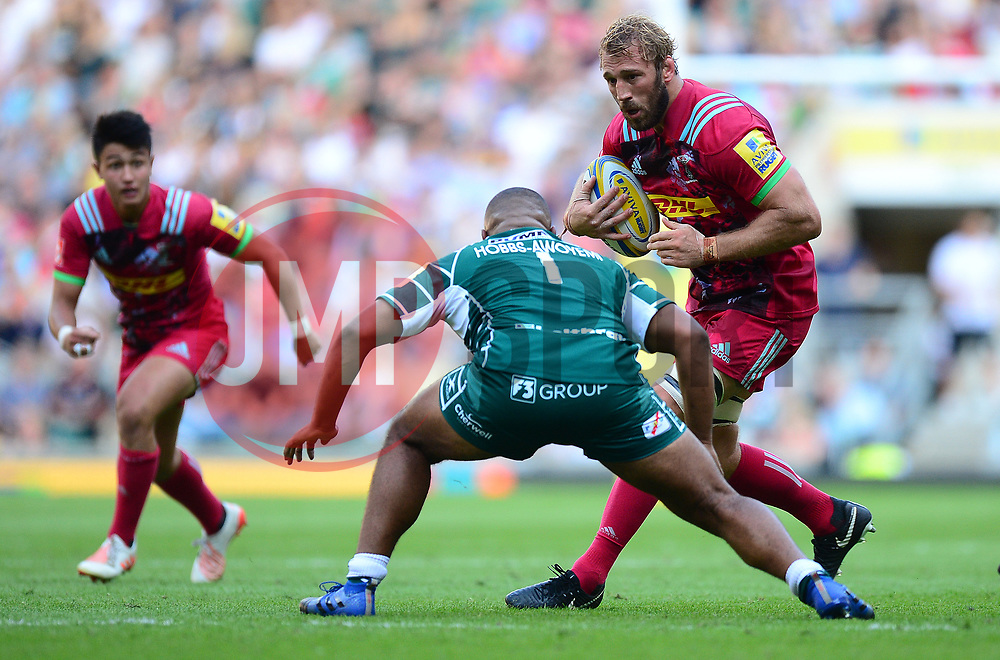 Chris Robshaw of Harlequins - Mandatory by-line: Alex James/JMP - 02/09/2017 - RUGBY - Twickenham Stadium - London, England - London Irish v Harlequins - Aviva Premiership