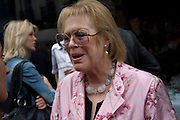 LADY ANTONIA PINTER, Matthew Carr: New Work. Marlborough Gallery. Albermarle St. London. 24 June 2008.  *** Local Caption *** -DO NOT ARCHIVE-© Copyright Photograph by Dafydd Jones. 248 Clapham Rd. London SW9 0PZ. Tel 0207 820 0771. www.dafjones.com.
