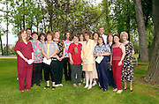 Members of Classified Senate marked the group's 10th anniversary with a tree dedication May 17, 2001.