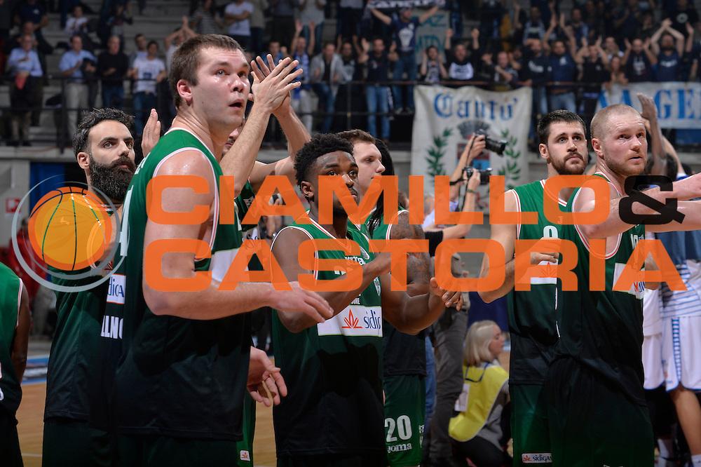 team avellino<br /> Red October Pallacanestro Cantu - Sidigas Scandone Avellino<br /> Lega Basket Serie A 2016/2017<br /> Desio, 12/12/2016<br /> Foto Ciamillo-Castoria