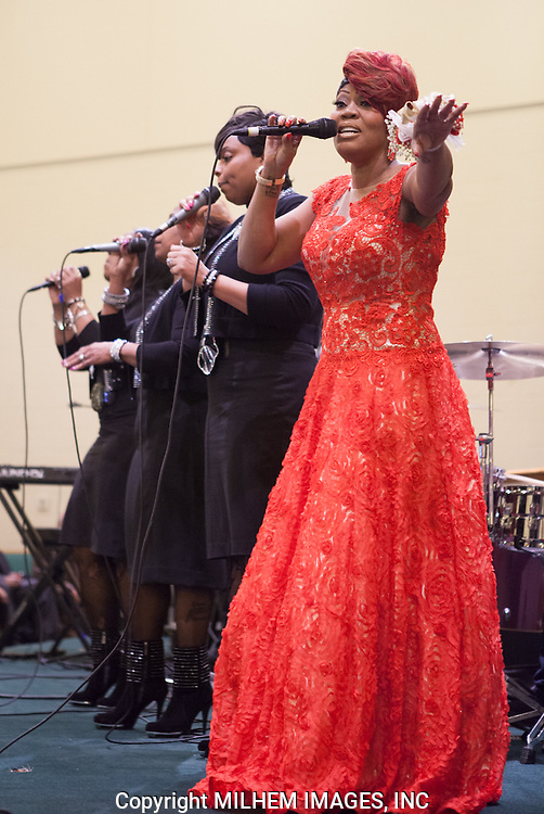 Kim Spivy, The Trumpelettes, Detroit Gospel Church Performances,