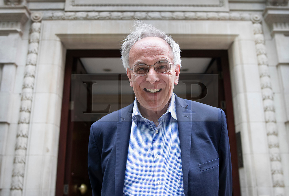 © Licensed to London News Pictures. 28/05/2019. London, UK. Conservative Party Euro sceptic MP Peter Bone is seen in Westminster. 10 MPs have said they intend to run for the leadership of the party after the resignation of Prime Minister Theresa May. Photo credit: Peter Macdiarmid/LNP