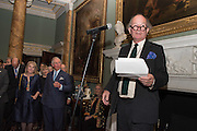 HON HANNAH ROTHSCHILD; THE PRINCE OF WALES; DAVID CAMPBELLEveryman 25th Anniversary party, Spencer House. St. James' Place. London. SW1. 26 October 2016