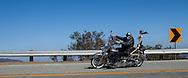 "Motorcycles and performance cars navigating ""The Snake"" on Mullholland Hightway, Agoura Hills, Ca"