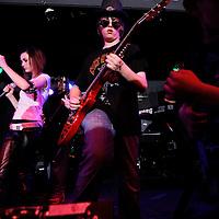 School of Rock. .April 30, 2010. .Guns-n-Roses vs. Motley crue..Phantasy Nite Club..All rights reserved..Photo by Ken Blaze.www.kenblaze.com.