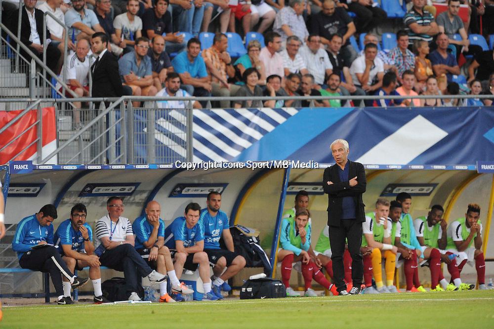 Pierre MANKOWSKI - 11.06.2015 - Football espoirs - France / Coree du Sud - Match amical -Gueugnon<br /> Photo : Jean Paul Thomas / Icon Sport