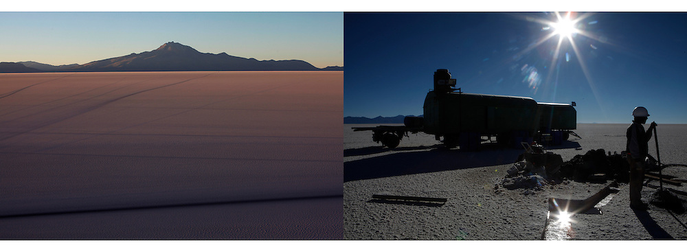 The salt flats of Uyuni have triggered international interest among energy companies due to its lithium reserves and Bolivia hopes the metal could power a green revolution when electric cars reach mass production.