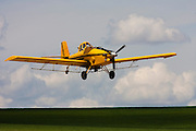 Crop Duster over Eastern Washington.