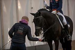 Minderhoud Hans Peter, NED, Glock's Dream Boy<br /> Vlaanderens Kerstjumping - Memorial Eric Wauters - Mechelen 2018<br /> © Hippo Foto - Dirk Caremans<br /> 28/12/2018