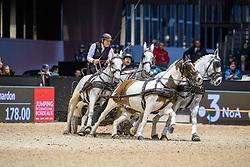 Chardon IJsbrand, NED, Casper, Feles, Kendi, Maesrtoso XLV-7<br /> Jumping International de Bordeaux 2020<br /> © Hippo Foto - Dirk Caremans<br />  09/02/2020