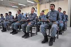 JOWZJAN, Sept. 7, 2016 (Xinhua) -- Afghan policemen take part in their graduation ceremony in Jowzjan province, Afghanistan, Sept. 7, 2016. A total of 50 policemen graduated after two months' training at a military training center in north Afghanistan's Jowzjan province, officials said. (Xinhua/Mohammad Jan Aria).****Authorized by ytfs* (Credit Image: © Mohammad Jan Aria/Xinhua via ZUMA Wire)