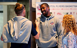 Rohndell Goodwin of Bristol Flyers attends the 2017/18 season launch event at Ashton Gate - Mandatory by-line: Robbie Stephenson/JMP - 11/09/2017 - BASKETBALL - Ashton Gate - Bristol, England - Bristol Flyers 2017/18 Season Launch