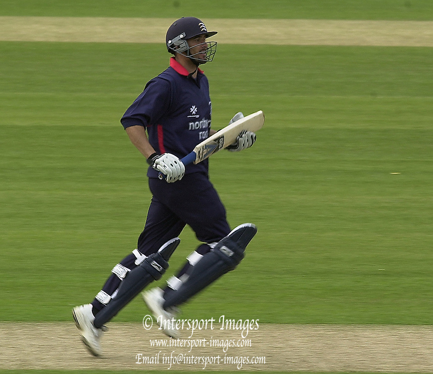 27/04/03  - Photo Peter Spurrier.2003 National Cricket League - Middlesex Crusaders v Derbyshire Scorpions, Paul Weekes. [Mandatory Credit:Peter Spurrier]..