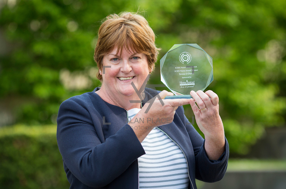 23.05.2018.       <br /> Today, the Institute of Community Health Nursing (ICHN) hosted its&nbsp;2018 community nurse&nbsp;awards in association with&nbsp;Home Instead Senior Care,&nbsp;at its annual nursing conference, in the Strand Hotel Limerick, rewarding public health nurses for their dedication to community care across the country. <br /> <br /> Pictured is, ICHN Nurse Awards Joint Award Winner, Teresa O Dowd Registered General Nurse Lucan Health Centre Dublin. Picture: Alan Place