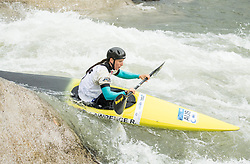 Rosalyn Lawrence of Australia competes during Kayak (K1) Women  Final race of 2018 ICF Canoe Slalom World Cup 4, on September 1, 2018 in Tacen, Ljubljana, Slovenia. Photo by Vid Ponikvar / Sportida