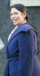 Downing Street, London, October 11th 2016. Government ministers arrive for the first post-conference cabinet meeting. PICTURED: International Development Secretary Priti Patel