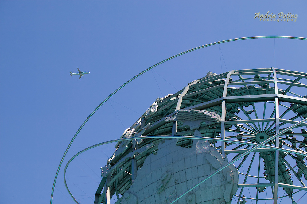 Steel Globe and Airplane, Corona Park, Queens