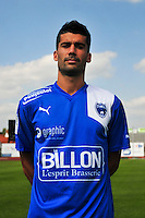 Quentin Bernard - 05.09.2014 - Photo officielle Niort - Ligue 2 2014/2015<br /> Photo : Philippe Le Brech / Icon Sport