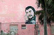Image of Ernesto Che Guevara in San Juan y Martinez, Pinar del Rio, Cuba.