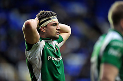 Elliott Stooke of London Irish looks on - Mandatory byline: Patrick Khachfe/JMP - 07966 386802 - 21/02/2016 - RUGBY UNION - Madejski Stadium - Reading, England - London Irish v Exeter Chiefs - Aviva Premiership.