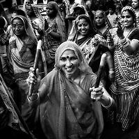 India: Black & White