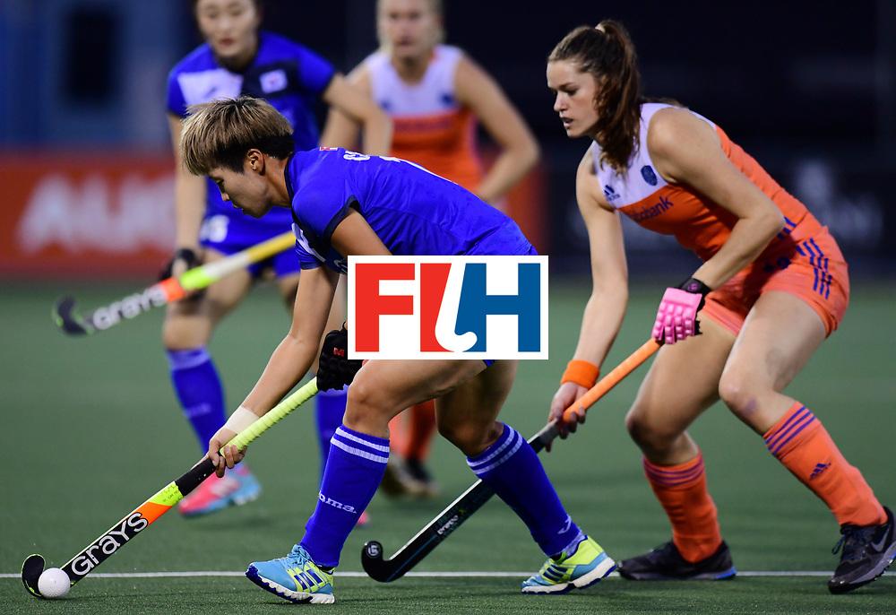 AUCKLAND - Sentinel Hockey World League final women<br /> Match id:<br /> 18 NED v KOR (Semi Final)<br /> Foto:<br /> WORLDSPORTPICS COPYRIGHT FRANK UIJLENBROEK