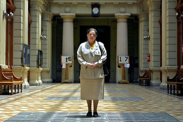 Viviana Diaz, human right leader and daughter of a pinochet's rule victim