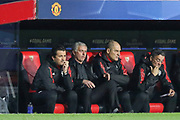 Manchester United Manager Jose Mourinho during the Champions League match between Sevilla and Manchester United at the Ramon Sanchez Pizjuan Stadium, Seville, Spain on 21 February 2018. Picture by Phil Duncan.