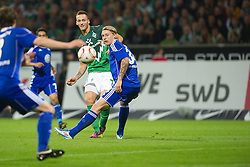 29.04.2011, Weserstadion, Bremen, GER, 1.FBL, Werder Bremen vs VFL Wolfsburg, im Bild Marko Arnautovic (Werder #07 )    EXPA Pictures © 2011, PhotoCredit: EXPA/ nph/  Kokenge       ****** out of GER / SWE / CRO  / BEL ******