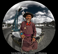 Portrait of a Ladakhi Gentleman for the DREAMS of INDIA photo Collection