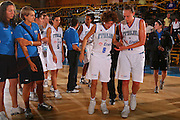 Bormio 26 luglio 2008 <br /> Basket Torneo Internazionale Femminile <br /> Italia &ETH; Belgio <br /> Nella foto: Ballardini <br /> Foto Ciamillo-Castoria
