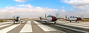 Israeli Air force Flight Academy Beechcraft T-6A Texan II (Efrony) on the ground