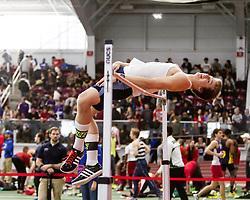 Boston University John Terrier Classic Indoor Track & Field: mens high jump, Rhode Island,