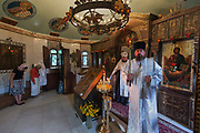 Kiev, Ukraine Orthodox prayer ceremony, Kiev