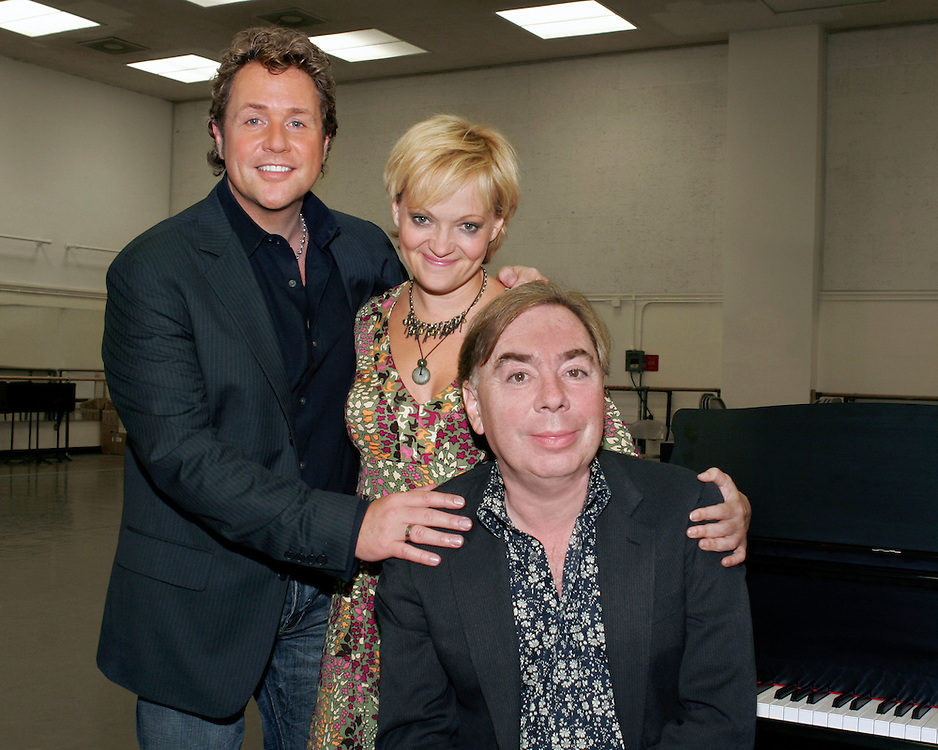 Andrew Lloyd Webber, Michael Ball, and Maria Friedman.September 27, 2005.NY State Theater.Credit Photo ©Paul Kolnik.NYC 212.362.7778.studio@paulkolnik.com.