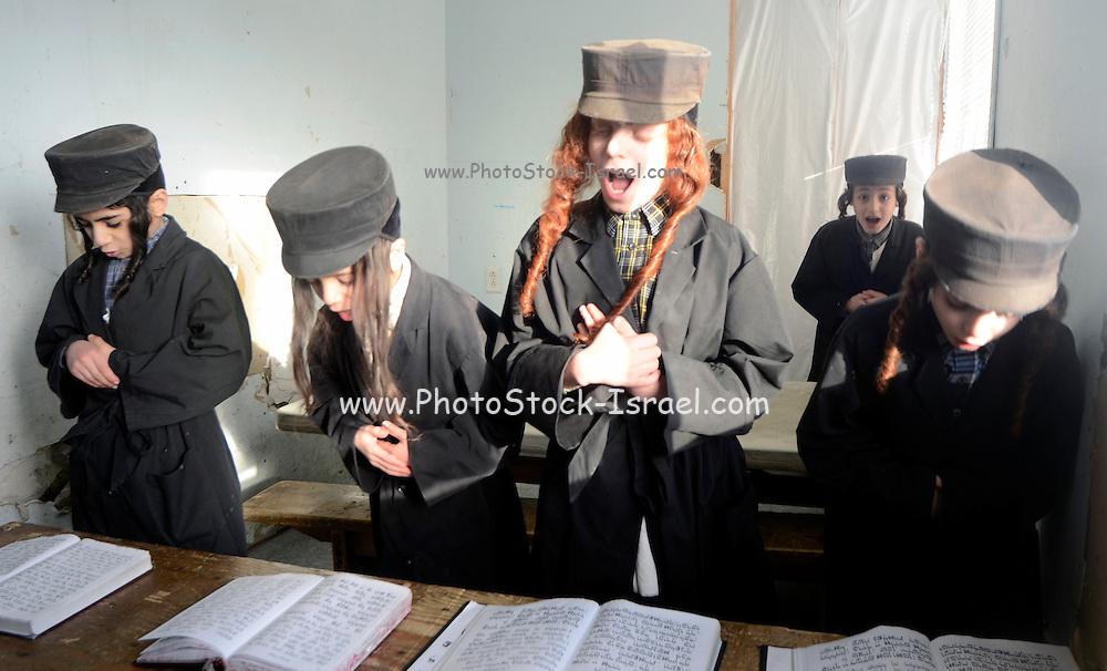 Orthodox Jewish school, Lev Tahor (Pure Heart) community, Sainte Agathe des Monts, Quebec, Canada