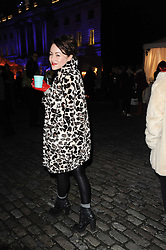 JAIME WINSTONE at Skate presented by Tiffany & Co at Somerset House, London on 22nd November 2010.